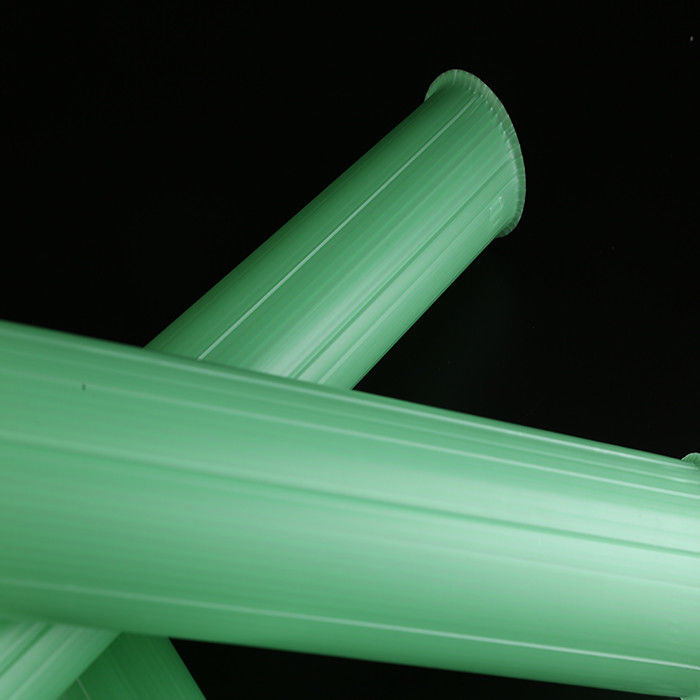 Weatherproof  PP Material Tree Shelter Tubes 80cm Length Green Color