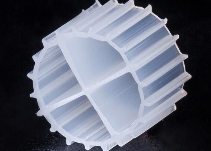 11*7mm MBBR Bio Filter Media K1 With White Color And Virgin HDPE Material